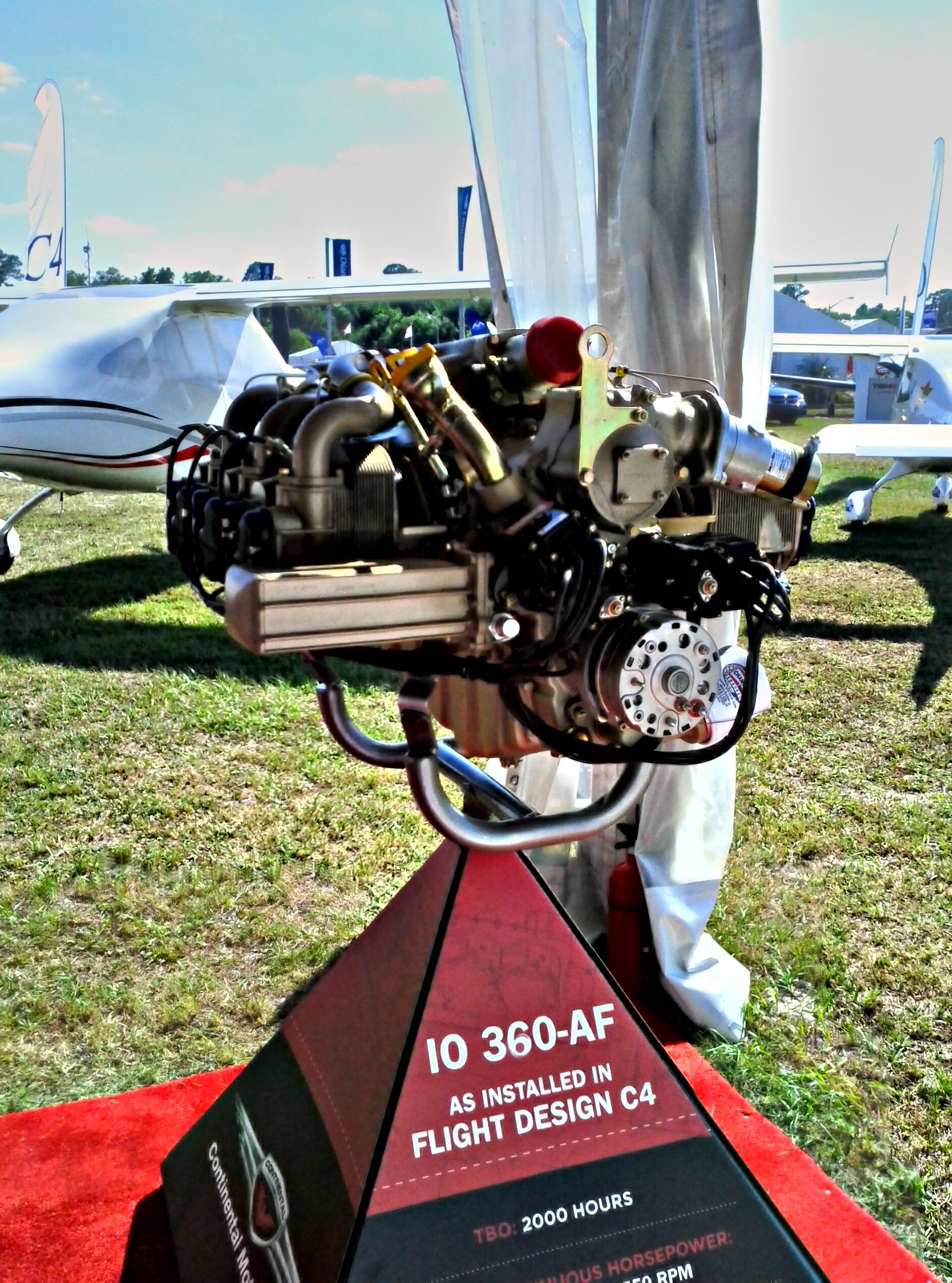 Continental IO 360- AF Engine
