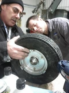Tire similar to Henry's